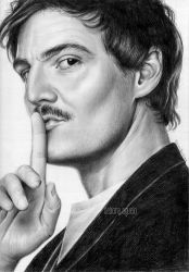 Pedro Pascal by nabey