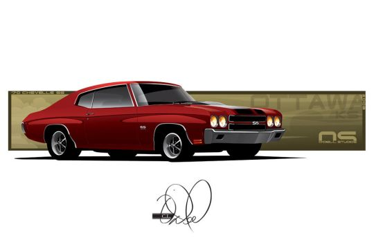 70 Chevelle SS by cityofthesouth