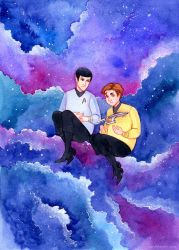 TOS Star Trek - Hands 2. by MaryIL