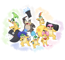 The Koopalings by KumariKat