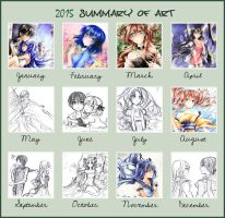 2015 Summary of Art by Kite-d