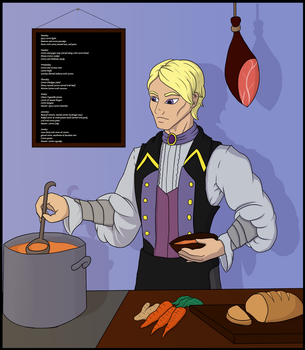 I-N: Chef Cenric by LadyLoriel
