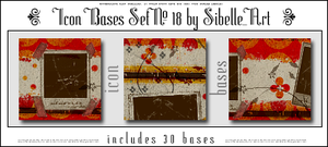 Icon bases Set No. 18 by Sibelle