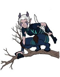 The Dragon Prince - Rayla by jdeberge