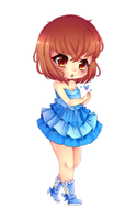 Here! Take it. CHIBI by Mimyoi