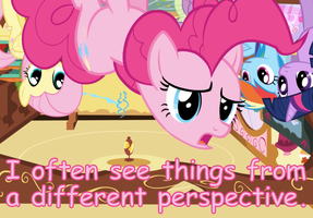 Pinkie Pie Perspective by Dowlphin