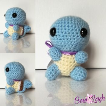 Squirtle Amigurumi  by sewleigh