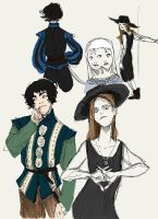 Doublets 'n' witches by emera