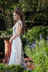Margaery Tyrell - Purple Wedding Dress by LyddiDesign