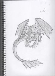 Toothless by tooneh