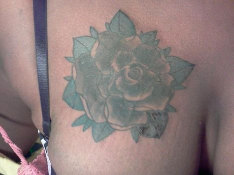 black rose cover up by smeajul