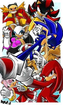 Sonic and the Sega Squad by herms85