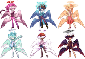[CLOSED] Seraphim auction by ghosty-doll-adopts