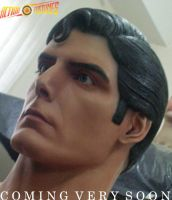 DEFINITIVE CHRIS REEVE BUST by supersebas