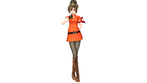 Project Diva Future Tone Cabin Attendant Meiko by WeFede