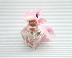 Pink Sweet Tooth Dragon by KriannaCrafts