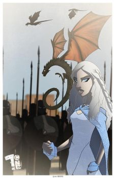 Mother of Dragons by Pumaboy3d