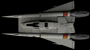 Buck Rogers Starfighter 08 by peterhirschberg