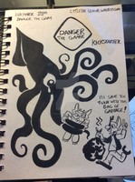 Inktober 28th Danger the Game by LytletheLemur