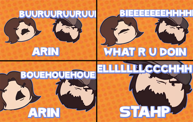 Arin. Stahp. by ChronoSquare