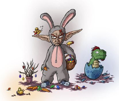 Angry Easter 2015 by ReallyAngry