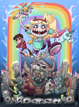 Star vs the Forces of Evil by hakutooon