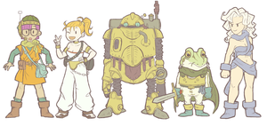 chrono trigger by Socks-and-Notebooks