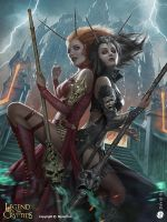 Wild demon princesses by DavidGaillet