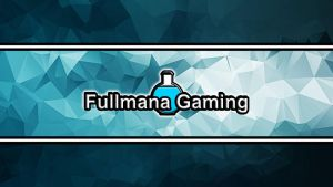 Fullmana Gaming Youtube Channel Art by crimsonvermillion