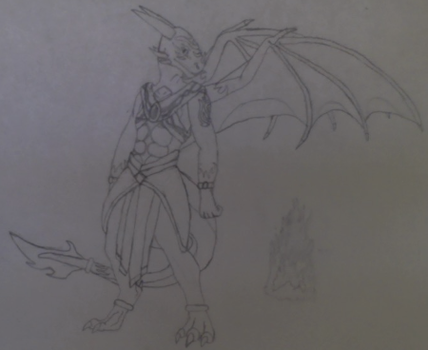 Shadow Creed Anthrovian Form by Shadow-Dragonlord