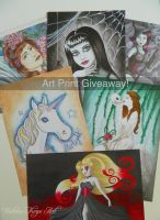Art Print Giveaway! by VictoriaThorpe