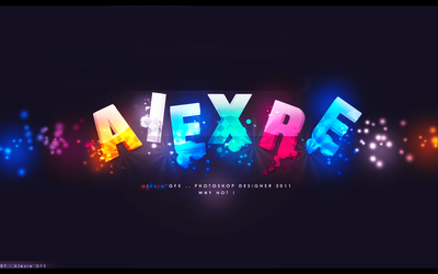 NEW FONT EFFECT by AlexreGFX