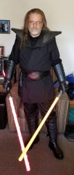 Sith Armor cosplay mk2-5 by Roguewing