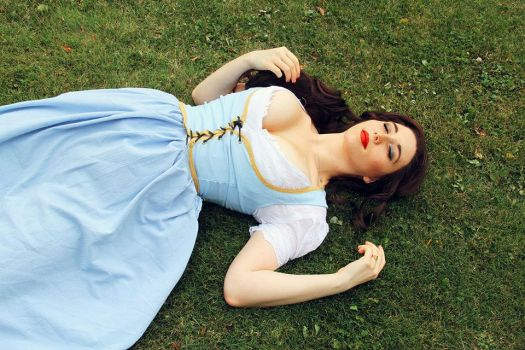 Belle- Once Upon a Time 2 by Stephvanrijn