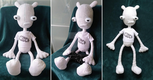 Large Oney Plays Ding Dong Plush by SharkArcade