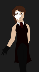 Phantom of the Opera Colorguard Uniform: Erik by ElyssaJM