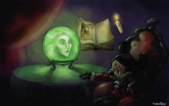 consulting Madame Leota by twisted-wind