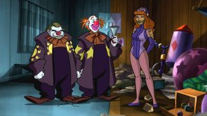Daphne Blake and Evil Clowns by VictorZulu