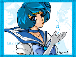 sailor mercury by kika1983