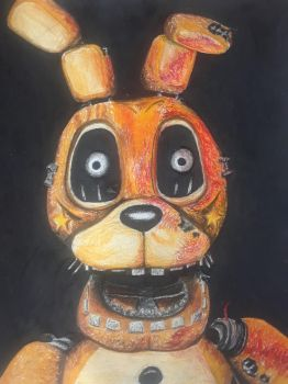 a fnaf custom animatronic by captaincrunch1950