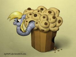 Muffin Worm by Ap0st0l