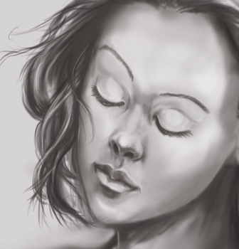 Detail Painting Practise by morganacannon