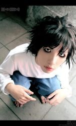 Death Note: L II by BlackMageAlodia