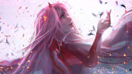 Zero Two - Human by Seiorai