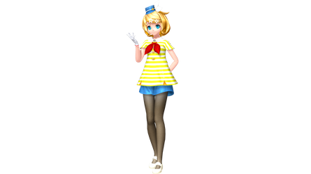 Project Diva Future Tone Cabin Attendant Rin by WeFede