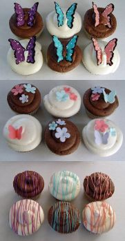 Spring Cupcakes by stacylambert