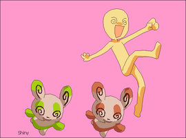 327(Spinda)- Pokemon and trainer base.