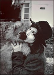 me and my dog 2 by andrahilde