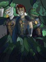 Laval, Eris and Cragger by Miron123456854