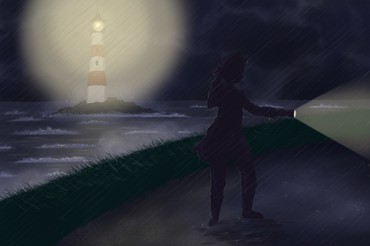 Lost in the Storm by OcularFracture